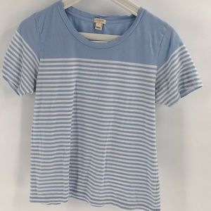 NWOT J. Crew Blue Short Sleeve T Shirt M